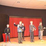 Jongens optreden 2